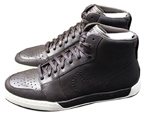Nike - Zapatillas de cuero para hombre marrón marrón chocolate