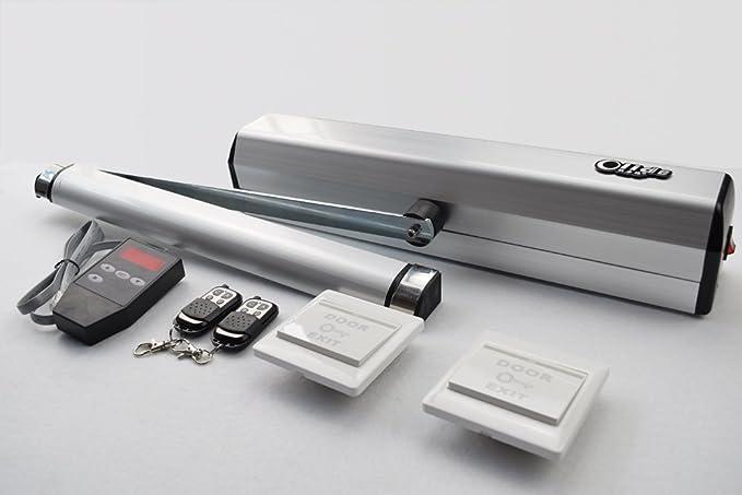 olide/eléctrica Swing - Cierrapuertas Automático, automática para la parte inferior de la puerta actuador: Amazon.es: Bricolaje y herramientas