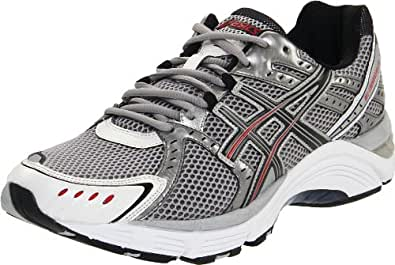 ASICS Men's GEL-Foundation 10 Running Shoe,Lightning/Black/Flame,9.5 M US