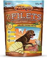 Zuke's Z-Filets Dog Treats, Savory Chicken Recipe, 7.5-Ounces