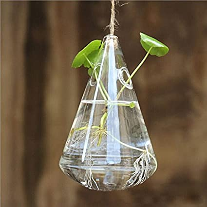 Amazon Soledi Unique Hanging Vase Wind Chime Lovely Clear