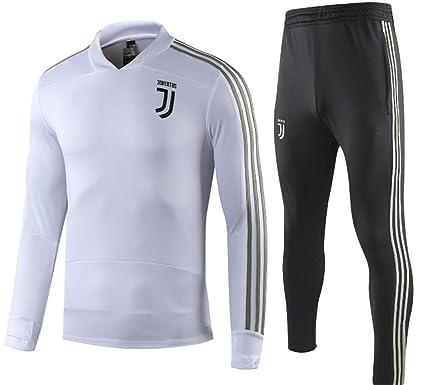 03e358048 LISIMKE Juventus Kids Long Sleeve Soccer Tracksuit Track Jacket with Pants  Youth Training Suit (5