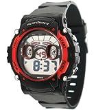 Performer - 70612632 - Montre Garçon - Quartz Digital - Cadran LCD - Bracelet Plastique Noir