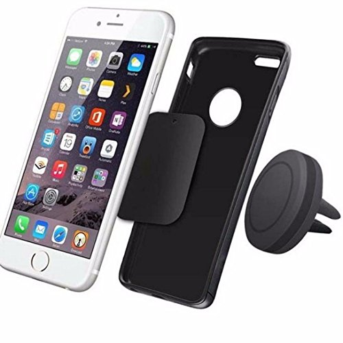 Creazy® Car Magnetic Air Vent Mount Holder Stand for Mobile Cell Phone iPhone GPS UF