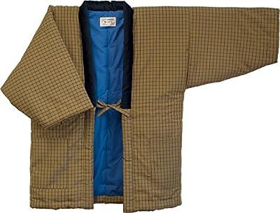 Hanten (Cotton Jacket Made in Japan Kimono-style)importjapanese Clothes Size Mens (Medium, 190)