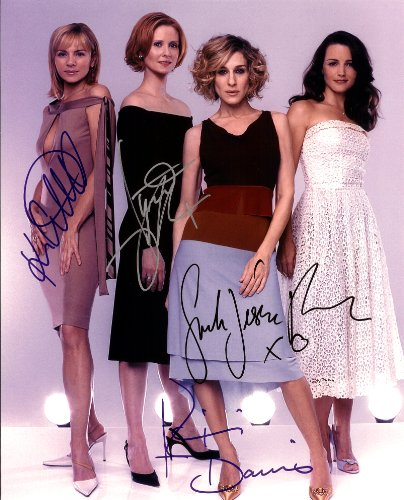 Sex and the City TV Series Cast Signed Autographed 8 X 10 Reprint Photo - Mint Condition from Nostalgic Cards & Autographs