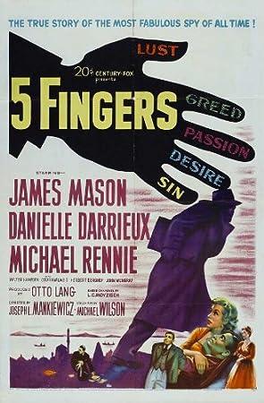 Resultado de imagen de película Cinco dedos