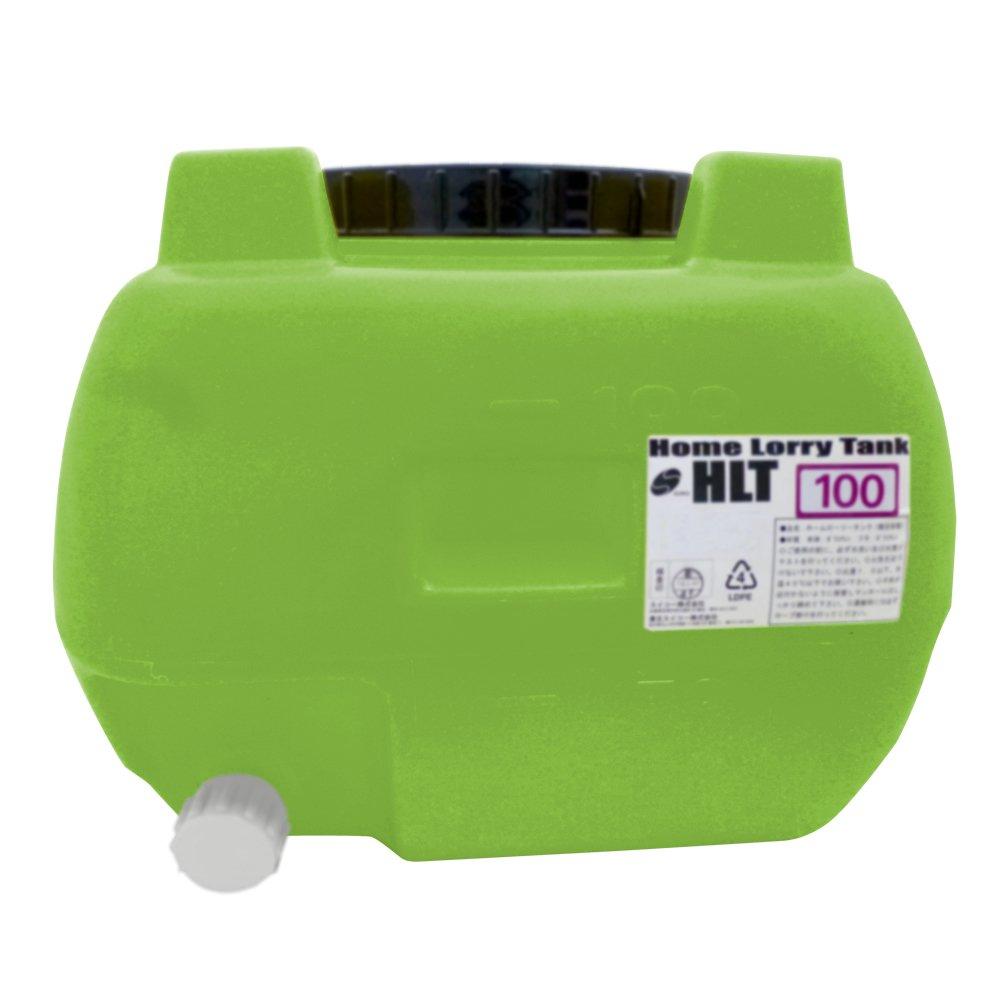 スイコー ホームローリータンク100 100L グリーン バルブ付 B00IIJGB3A 14352