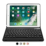 iPad Pro 9.7 / iPad Air 2 keyboard case, [NEW] COOPER KAI SKEL Q0 Bluetooth Wireless Keyboard Portable Laptop Macbook Clamshell Case Cover with 14 Shortcut Keys for Apple iPad Air 2 / Pro 9.7 Black