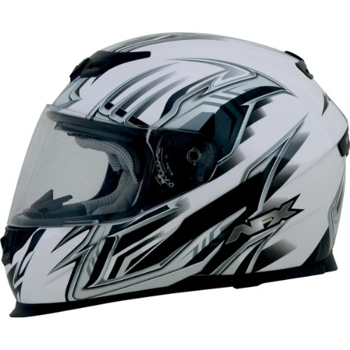 AFX FX-120 Graphics Air Bladder Helmet , Helmet Type: Full-face Helmets, Helmet Category: Street, Distinct Name: Multi Pearl White, Primary Color: White, Size: Sm, Gender: Mens/Unisex 0101-6453