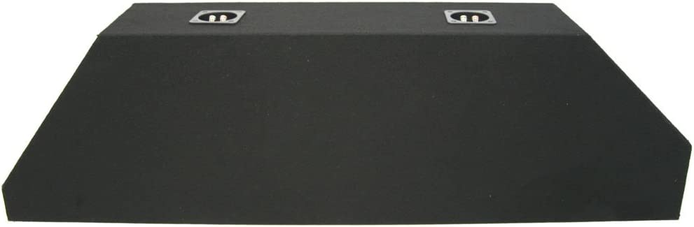 Compatible with 2010-2013 Chevy Camaro Ls Lt Ss Dual 10 Subwoofer Enclosure Sub Box