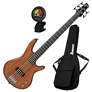 ibanez gsr105exmol 5 string electric bass natural oil w gig bag and tuner. Black Bedroom Furniture Sets. Home Design Ideas