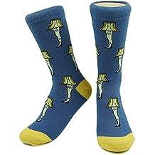 Leg Lamps Socks Glow in Dark Kids Boys Womens Mens Novelty Funny Christmas Story