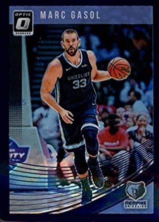 d72da1a6b 2018-19 Donruss Optic Purple  144 Marc Gasol Memphis Grizzlies Basketball  Card