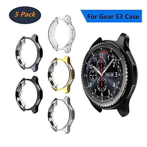 [5Pack] Case Fit Samsung Gear S3 Frontier & Classic&Galaxy for sale  Delivered anywhere in Canada