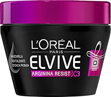 LOréal Paris Elvive Mascarilla Arginina Resist - 300 ml