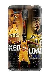 los angeles lakers nba basketball (48) NBA Sports & Colleges colorful Note 3 cases wangjiang maoyi