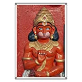 CafePress Hindu Monkey God - Vinyl Banner, 44''x30'' Hanging Sign, Indoor/Outdoor