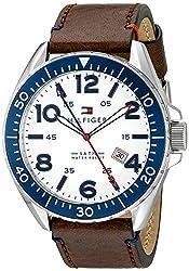 Tommy Hilfiger Men's 1791132 Casual Sport Analog Display Quartz Brown Watch by Tommy Hilfiger