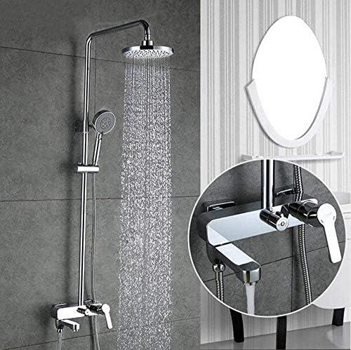 CHUNSHENN シャワー蛇口バスタブミキサー浴室の滝の蛇口浴室浴槽タップウォールマウントシャワーシステム バス用品