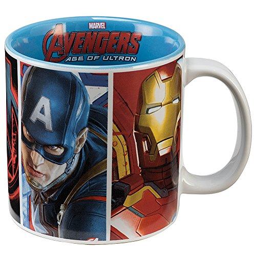 Marvel Avengers Age of Ultron Characters Coffee Mug 20-Oz. Ceramic Drinkware