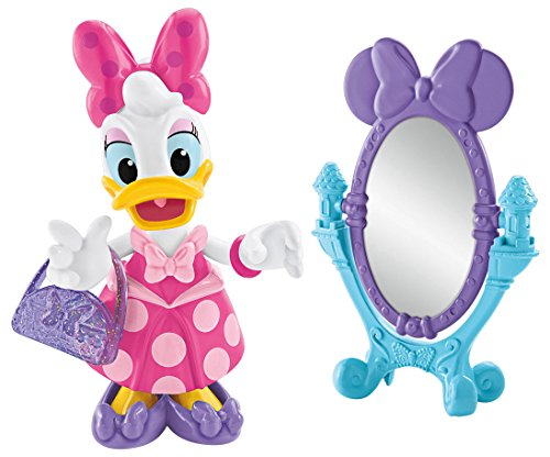 Daisy Duck Figurine (Fisher-Price Disney Minnie, Princess Daisy Bow-tique Pack)