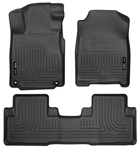 Husky Liners 98451 Front & Second Seat Floor Liner Set Black