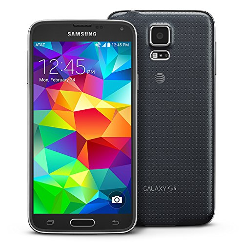 Samsung Galaxy S5 G900A 16GB Unlocked GSM 4G LTE Quad-Core Smartphone with 16MP Camera, Black (Renewed)