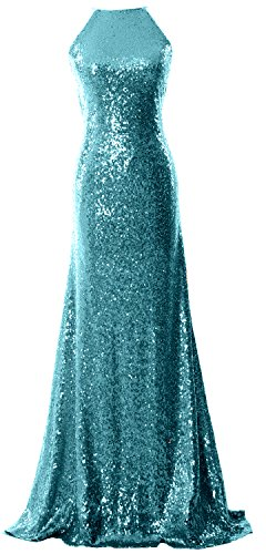MACloth - Robe - Femme bleu 54