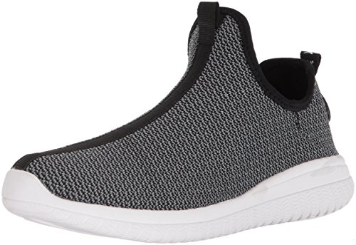 AND1 Men's Too Chillin Too Basketball Shoe, Charcoal Knit/Black/White, 10.5 M (Shox Black Basketball)