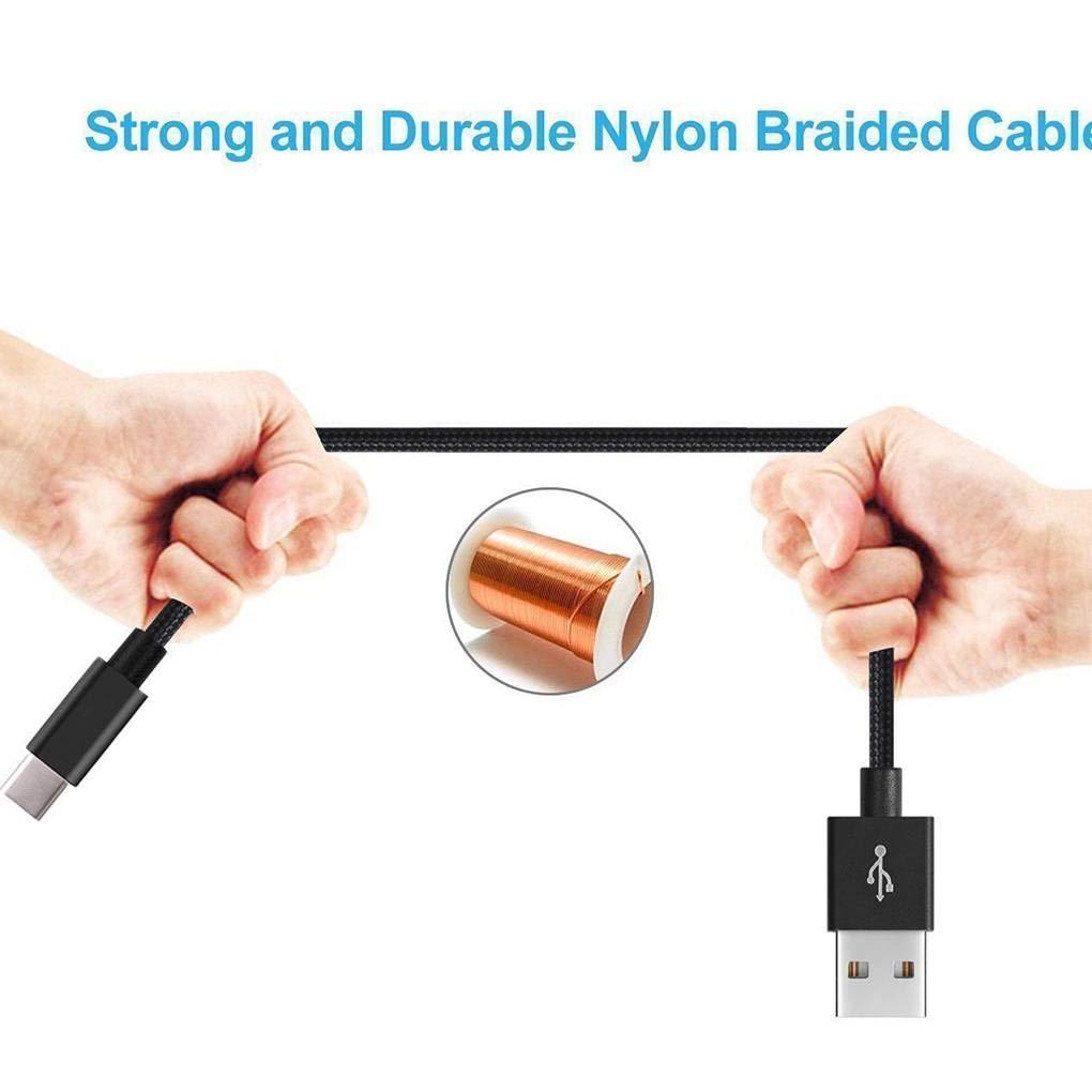 beIilan 1//2//3 Metri Linea Dati Cavo di Ricarica di Tipo C per Samsung Galaxy S9 S8 Inoltre Nota 8 USB-C di Ricarica Rapida Wire