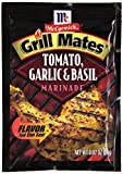 Backyard barbecues just got juicier and more delicious with McCormick Grill Mates Tomato, Garlic & Basil Marinade. This refreshing seasoning features a blend of sweet tomatoes, garlic, basil and extractives that will keep your guests comi...