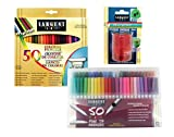 Sargent Art 22-0083 Draw & Color Art Set with Bonus Pencil Sharpener 101 Pc Colored Pencils, Markers, Sharpener
