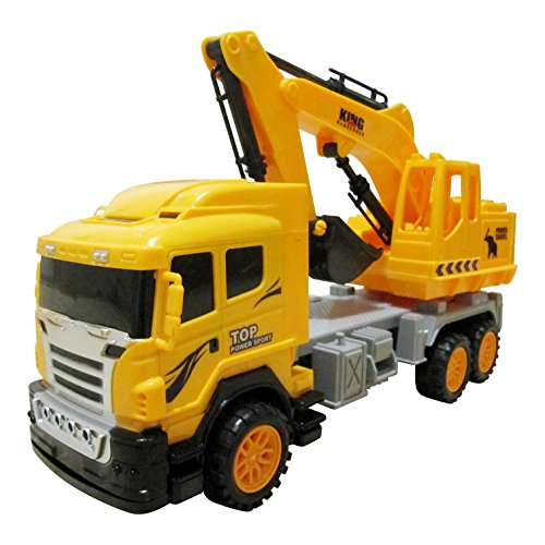 Large Construction Toys For Boys : Big model excavator toy tractor for boys construction