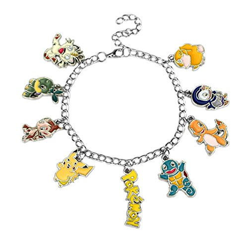 Pokemon 30th Anniversary ( 9 Themed Charms) Assorted Metal Charm (Halloween Special Movie Park)