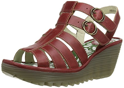 Sandales Ygor Fly red 002 London Femme Rouge SqBExPpw