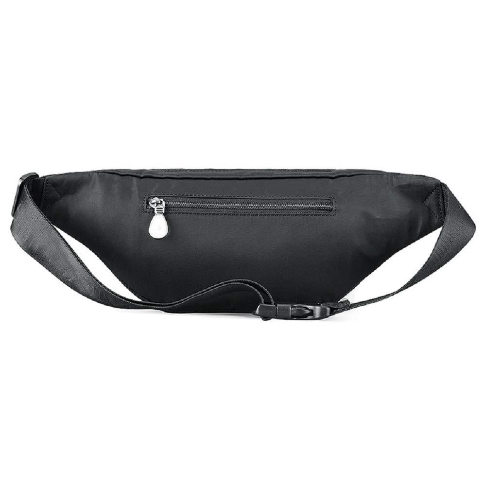 HhGold leicht zu tragendes Accessoire Bergsteigertasche Laufgürtel Lauftasche auf Camping, Wandern und Einige Feldaktivitäten (Farbe : Schwarz)
