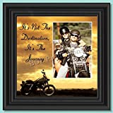 It's Not the Destination, Harley Davidson Motorcycle, 10X10 9760B offers