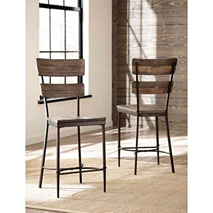 Amazoncom Hillsdale Jennings 25 Counter Stool In Distressed
