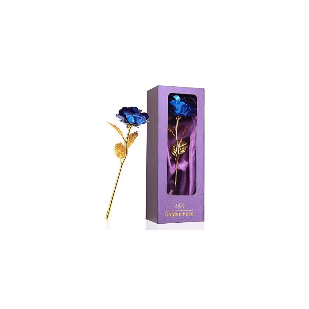Purple-Rose-Flower-Present-24K-Golden-Foil-with-Luxury-Gift-Box-Great-Gift-Idea-for-Valentines-Day-Mothers-Day-Thanksgiving-Day-Christmas-Birthday-Anniversary
