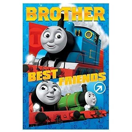 Thomas la Locomotora Brother Tarjeta Cumpleaños: Amazon.es ...
