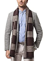 AIEOE Winter Scarf Long Warm Cashmere-like Elegant Classic Scarves for Men