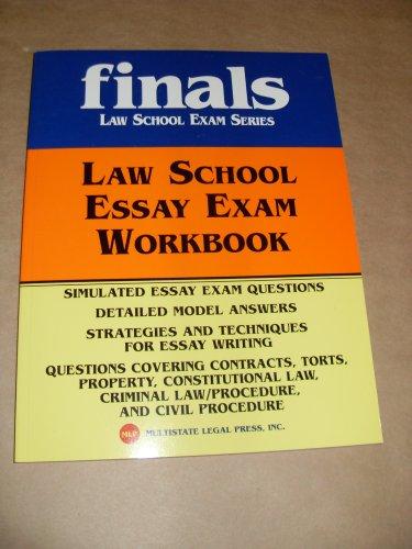 Kaplan Pmbr Law School Essay Exam Workbook 2005 Edition (Finals Law School Exam Series)