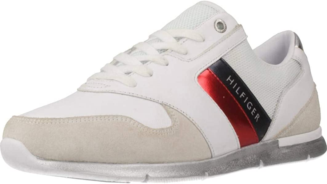 Tommy Hilfiger Sneaker White FW0FW03785020, Zapatillas para Mujer