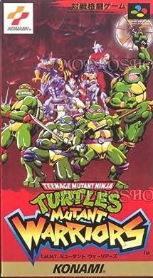 TMNT Mutant Warriors Nintendo Super ... - Amazon.com