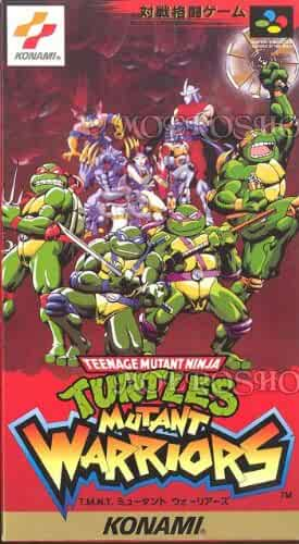 Amazon Com Tmnt Mutant Warriors Nintendo Super Famicom