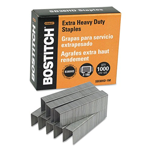 y Bostitch Heavy-Duty Staples for B380HD-Blk Auto 180 Stapler ()