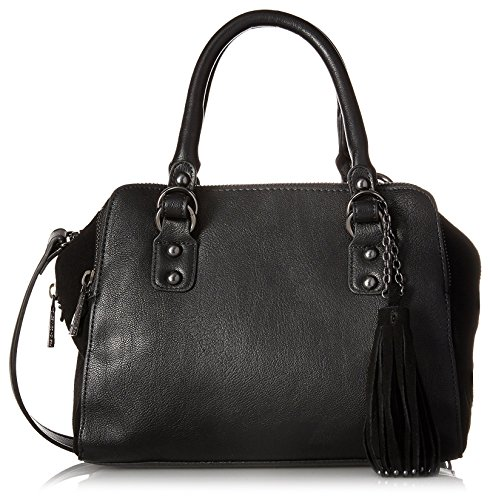 french-connection-womens-jenny-satchel-black