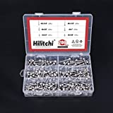 Hilitchi 410 Stainless Steel #8 Hex Washer Head
