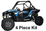 #9: 2014-2019 Polaris RZR XP 1000 XP1000 / Turbo Lower Door Insert Panels